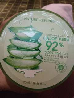 Nature Republik aloe vera 92% soothing gel