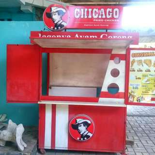 Paket Lengkap Untuk  Jualan/dagang Fried Chicken