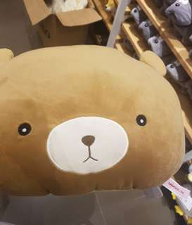 Miniso Bear Stuffed Toy Plush Pillow