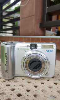 Used/Old Digital Camera 5MP