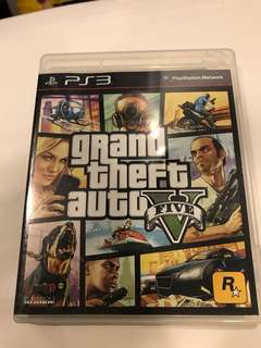PS3 Grand theft auto GTA 5