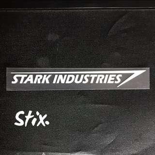 Stark Industries Vinyl Cut Sticker