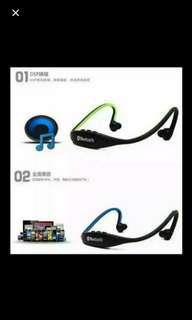 (4件/4pieces) 後戴掛耳式運動藍牙耳機 (有色) (唯多推廣系列) (包Buyup自取站取貨) (bluetooth headset)