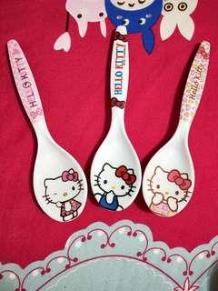 Hello Kitty plastic Spoon