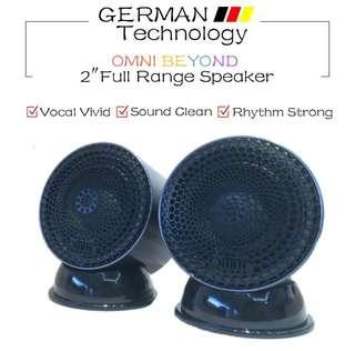 Omni Beyond 2 inch Full Range Speakers