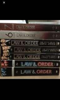 Law & Order Seasons 1-7