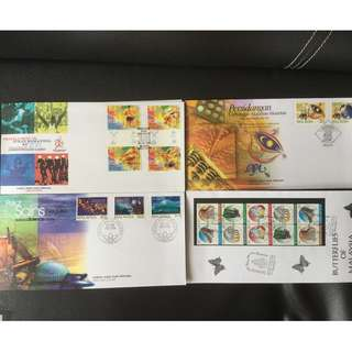First Day Cover 4 Set