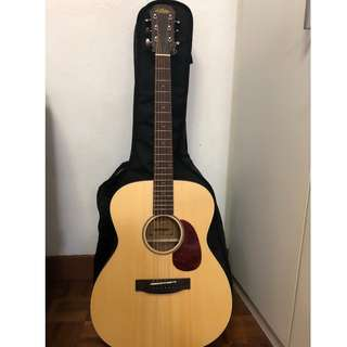 ARIA 101 MTN acoustic guitar with bag
