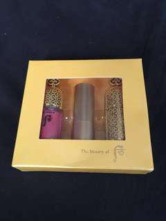 History of Whoo lip set