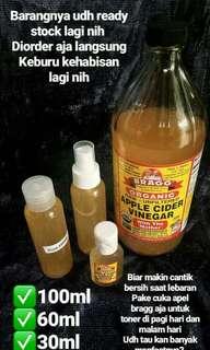 Cuka Apel Bragg Pure/Toner