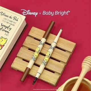 🚚 Winnie the Pooh x Baby Bright Honey 2 in 1 Eyebrow Gel & Pencil