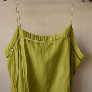 Mango Suit Apple Green Top