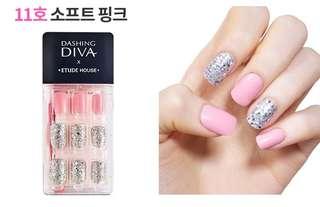 🚚 Dashing 1 Sec Press On nails Sticker
