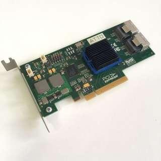ATTO H608 8 SATA 6Gbps SAS Host Bus Adapter HBA non RAID