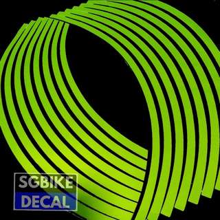 Luminous Neon Rim Decal