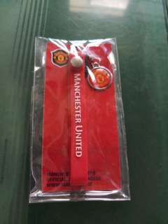 Manchester United Official Merchandise Keyring