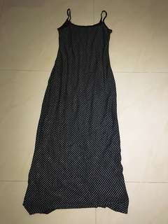 Vintage Long Dress Brand Rest and Relax Dress
