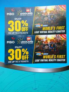 Legoland discount tickets. Free postage via stamps