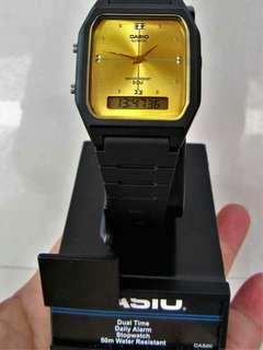 Casio Classic Gold Analog \ Digital Authentic