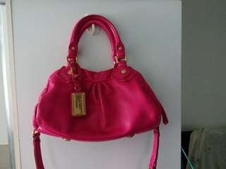 Marc Jacobs shocking pink bags