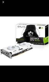 Galax 1070ti GPU