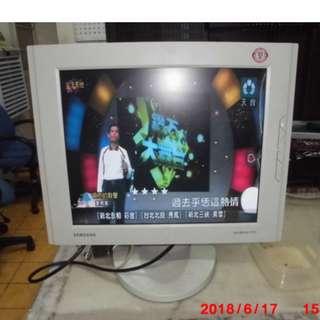 "Sam-sung SyncMaster 171S - LCD monitor - 17"" Series Specs(可做監視器螢幕)"