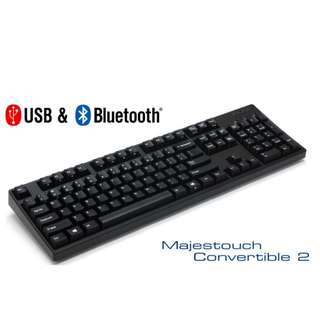Filco Convertible 2 - 104 / 87 Keyboard - Wireless(bluetooth) + Wired