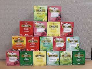 Twining tea (10teabags per box)