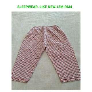 12month sleepwear
