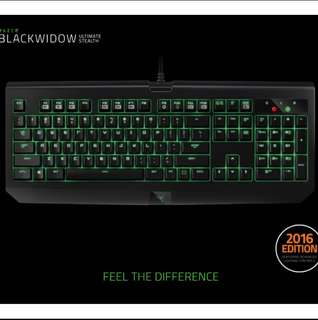 Razer Blackwidow Tournament 2016 Stealth