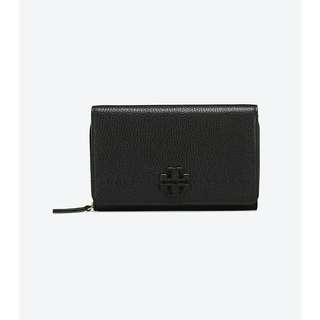 TORYBURCH mcgraw flat wallet crossbody