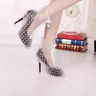 女裝 高跟鞋 高踭鞋 防水 雨天 鞋套            jjjj
