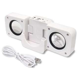 便攜接合式立體聲音箱 Portable Folding Speaker