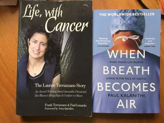 When breath becomes air / life with cancer
