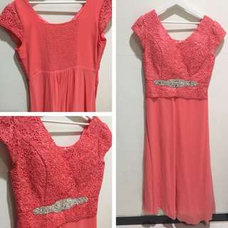 DRESS GAUN PESTA