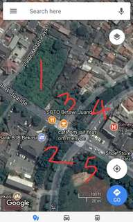 Tanah Pusat Kota Bekasi