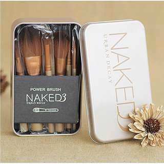 H Brush Make Up NAKED 3 Isi 12 pcs Kualitas Bagus