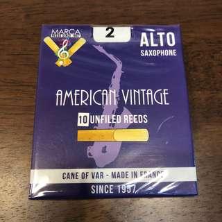 Marca American Vintage Alto Saxophone Reed