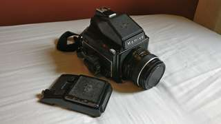 mamiya m645 medium format film camera with 80mm 2.8 lens (price drop!!)