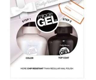 Miracle Gel by Sally Hansen duo nail polish pack