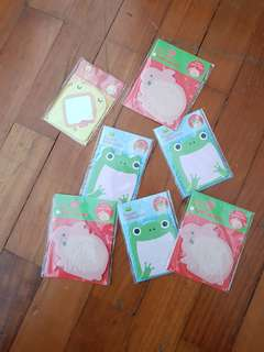 Animal Post It Notes