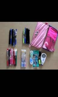 筆 筆袋 鉛芯筆 原子筆 墨水筆