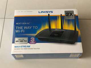 Linksys AC1900 WiFi network router