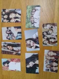 Gfriend photo card