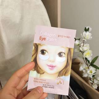 FREE with any purchase collagen eye patch