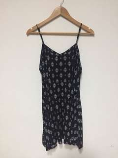 Printed Spaghetti Strap Dress