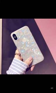 iPhone 7 Plus case 貝殻紋軟殻