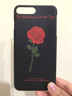 iPhone7Plus紅玫瑰case