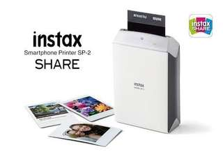 Fujifilm Instax Share SP-2 Portable Printer - Silver
