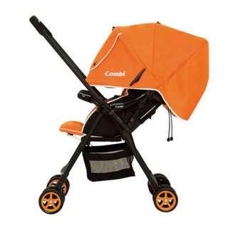 Combi Well Comfort Stroller in Orange